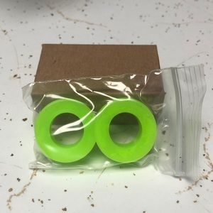 1in Neon Green Silicon Tunnels!